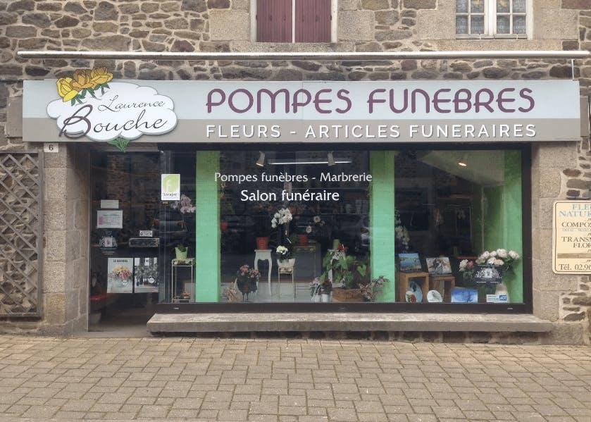 Photographie de la Pompes Funèbres Laurence Bouche à Pleudihen-sur-Rance