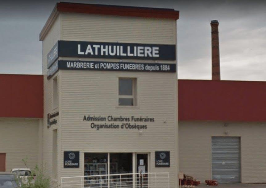 Photographie POMPES FUNÈBRES & MARBRERIE LATHUILLIÈRE de Saint-Just-Saint-Rambert