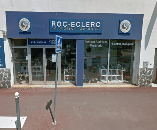 Photographie de la Pompes Funèbres ROC ECLERC à Agde