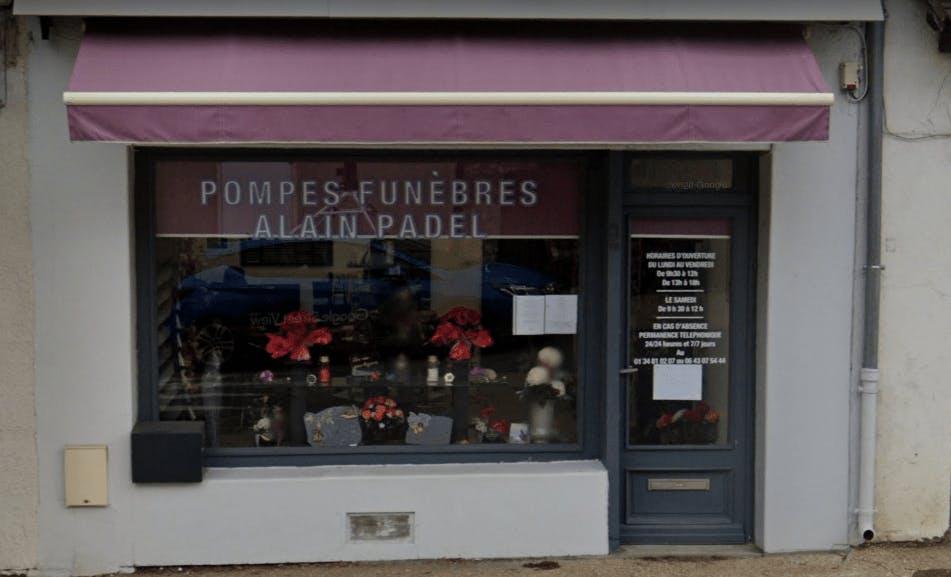 Photographie Pompes Funèbres Alain Padel  de Beynes
