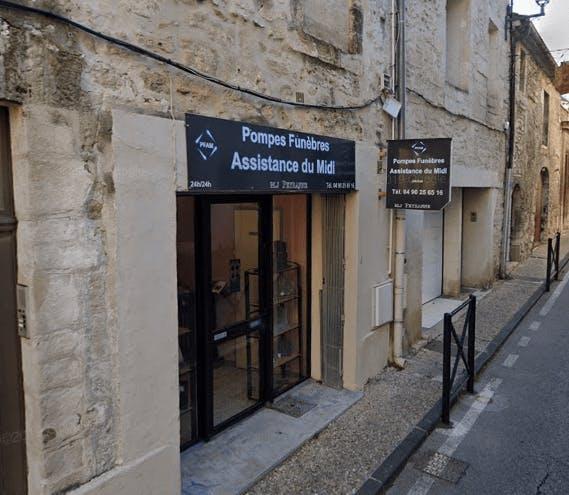 Photographie de la Pompes Funèbres Assistance du Midi à Villeneuve-lès-Avignon