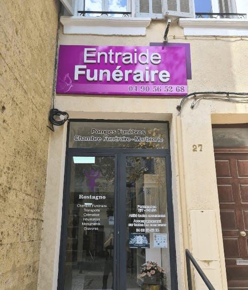 Photographie Entraide Funéraire ROSTAGNO de Salon-de-Provence