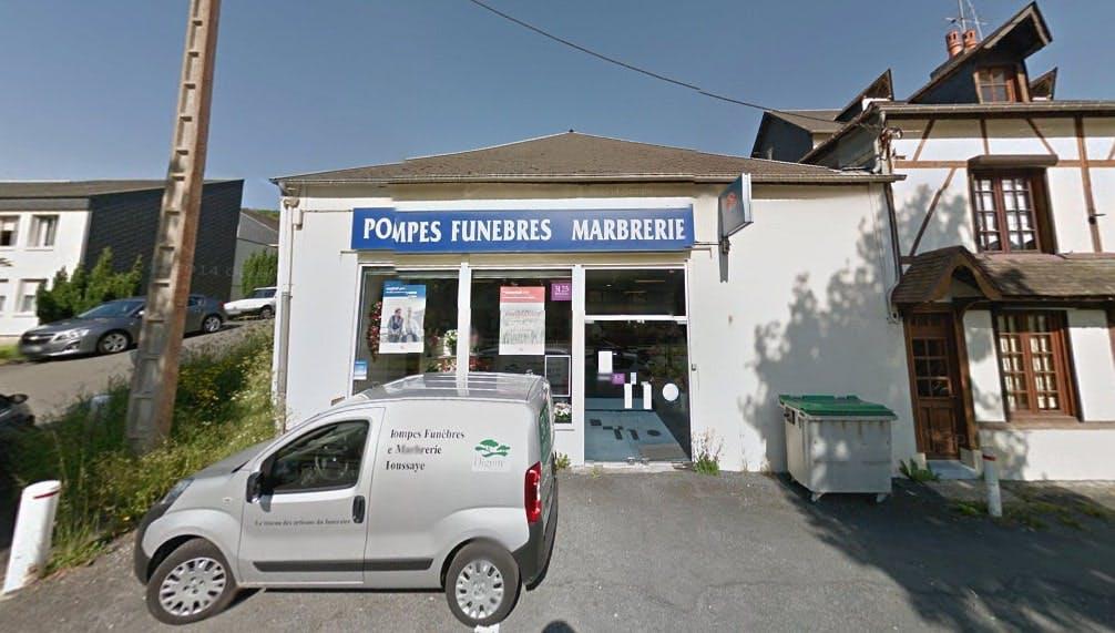 Photographies des Pompes Funèbres Générales à Honfleur