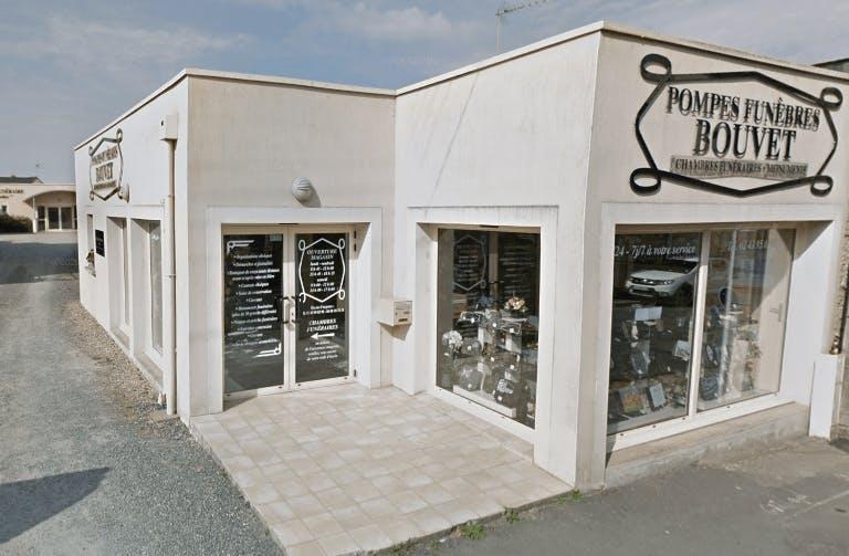 Photographie Pompes Funèbres BOUVET de Sablé-sur-Sarthe