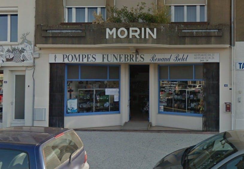 Photographies des Pompes Funèbres Renaud-Belot à Saujon