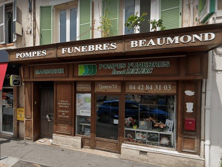 Photographie Pompes Funèbres Roc-Eclerc d'Aubagne