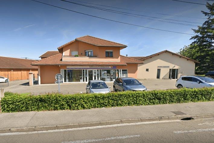 Photographie des Pompes Funèbres Générales de la ville de Bourg-en-Bresse