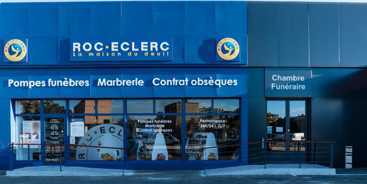 Photographies des Pompes Funèbres Roc'Eclerc au Pontet