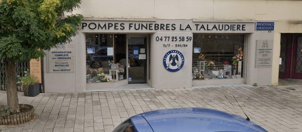 Photographie de la Pompes Funèbres Loire Funéraire à La Talaudière