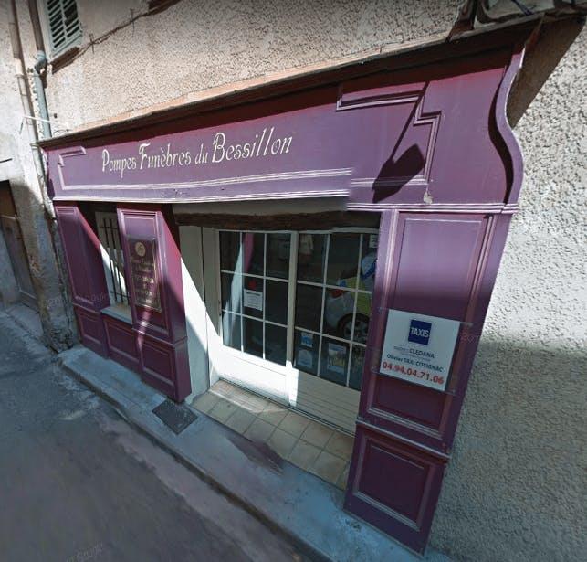 Photographie Pompes Funèbres du Bessillon de Cotignac