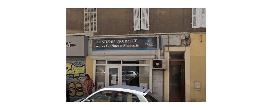 Photographie de la Pompes Funèbres et Marbrerie Blondeau Noirault à Marseille