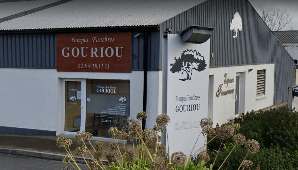 Photographie de la Pompes Funèbres et Marbrerie Gouriou à Taulé