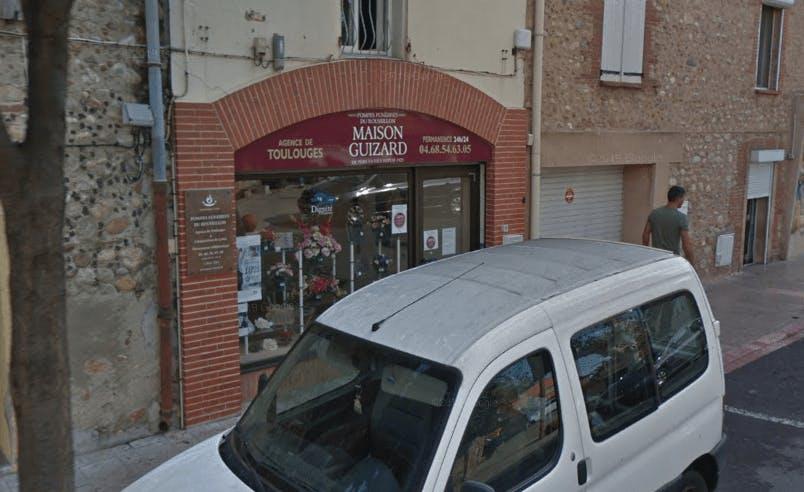 Photographie de la Pompes Funèbres et Marbrerie Maison Guizard à Toulouges