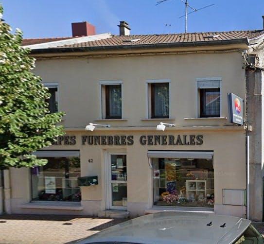 Photographies des Pompes Funèbres Genérales à Forbach