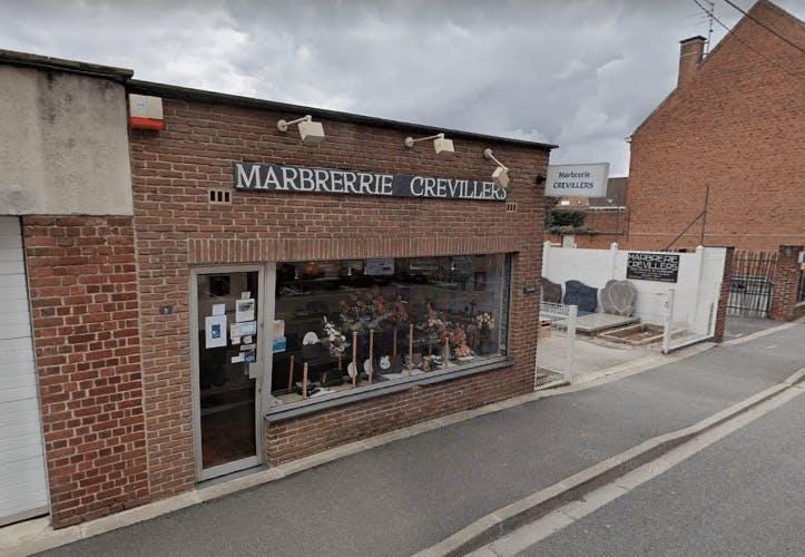 Photographie de la Marbrerie Crevillers à Hazebrouck