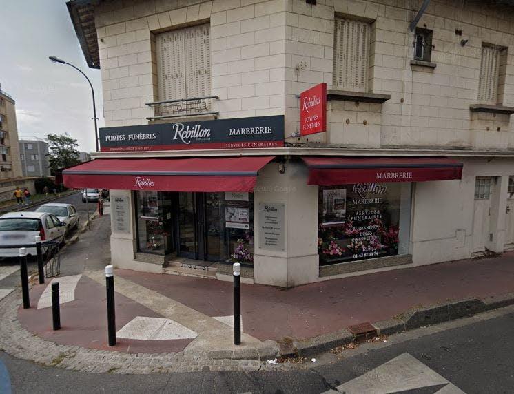 Photographie Pompes funèbres et Marbrerie Rebillon Montreuil