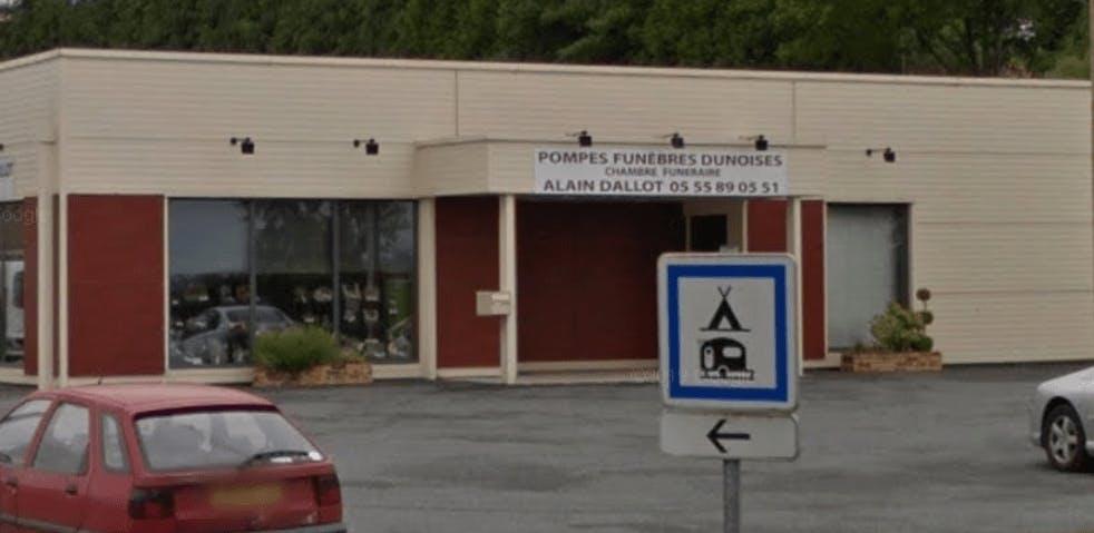 Photographie de Pompes Funèbres Alain Dallot de la ville sur Dun-le-Palestel
