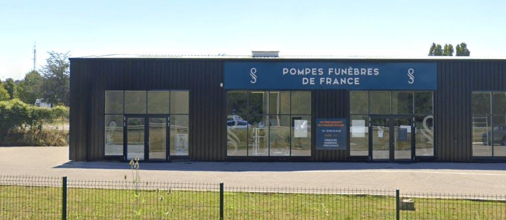 Photographie de la Pompes Funèbres de France à Appoigny