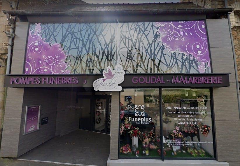 Photographies Du Centre Funéraire Goudal Jouenne à Fougères