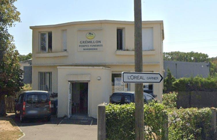 Photographie de la Pompes Funèbres et Marbrerie Grémillon à Rambouillet