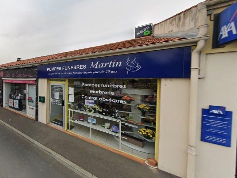Photographies des Pompes Funèbres Martin à Dolus-d'Oléron