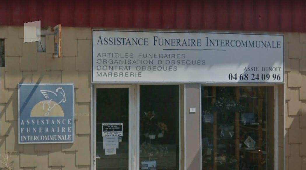 Photographie de l`Assistance Funéraire Intercommunale de la ville de Rieux-Minervois