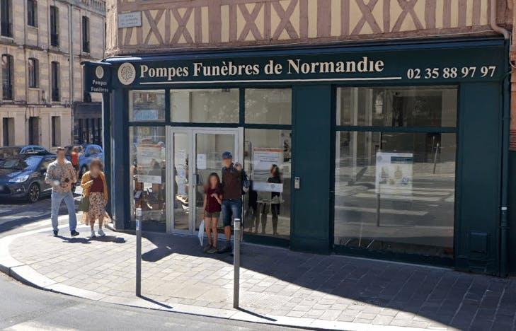 Photographie Pompes Funèbres de Normandie de Rouen