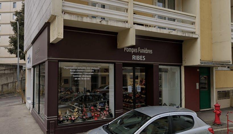 Photographie de la Pompes Funèbres Ribes à Alès