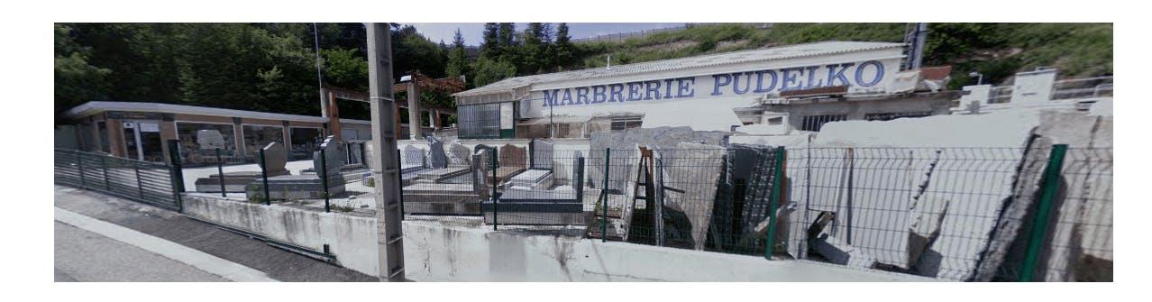 Photographie de la MARBRERIE B. PUDELKO(rue Charles Longuet) à Saint-Etienne