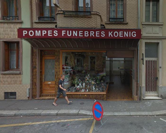 Photographie Pompes Funèbres Koenig Mulhouse