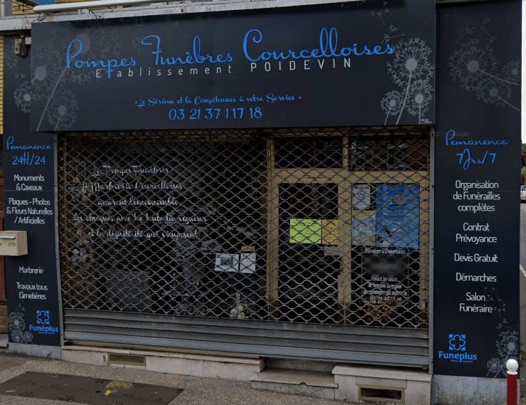 Photographie de la Pompes Funèbres Marbrerie Courcelloise de la ville de Courcelles-lès-Lens