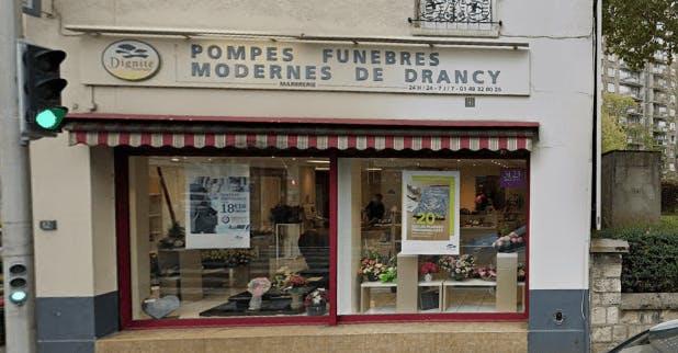 Photographie de la Pompes Funèbres et Marbrerie Moderne de Drancy à Drancy