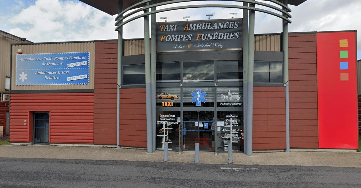 Photographie de la Pompes funèbres de Doullens  de la ville de Doullens