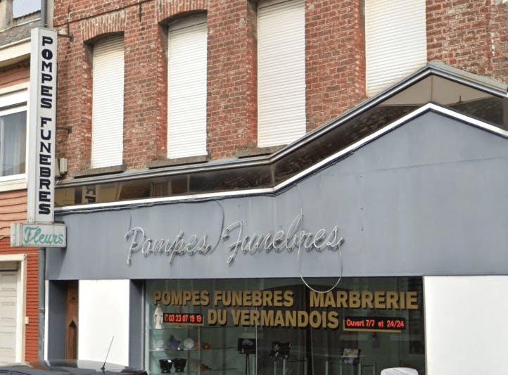 Photographie de la Pompes Funèbres Et Marbrerie Du Vermandois de Bohain-en-Vermandois