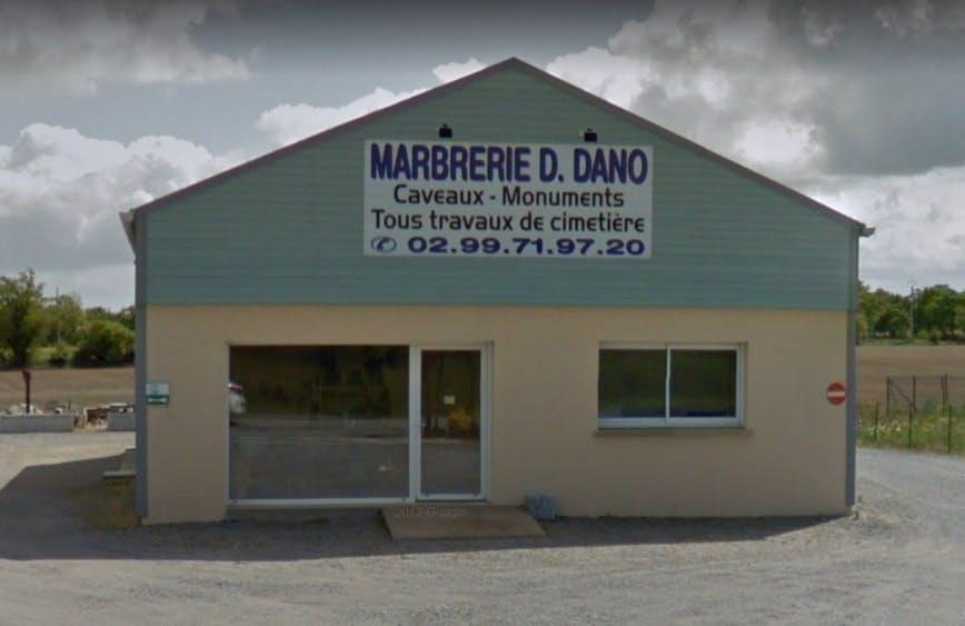 Photographie de la Marbrerie D. Dano sur Allaire