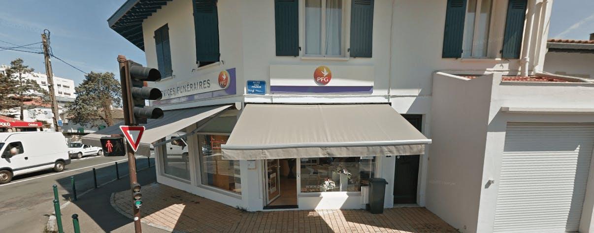 Photographie PFG-Services funéraires à Biarritz