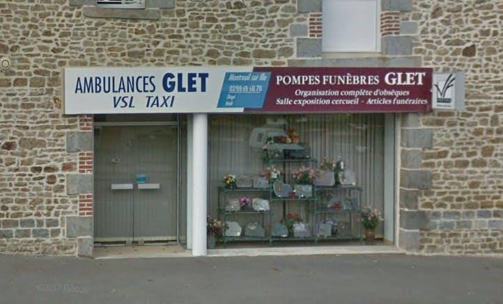 Photographies des Pompes Funèbres Glet à Montreuil-sur-Ille
