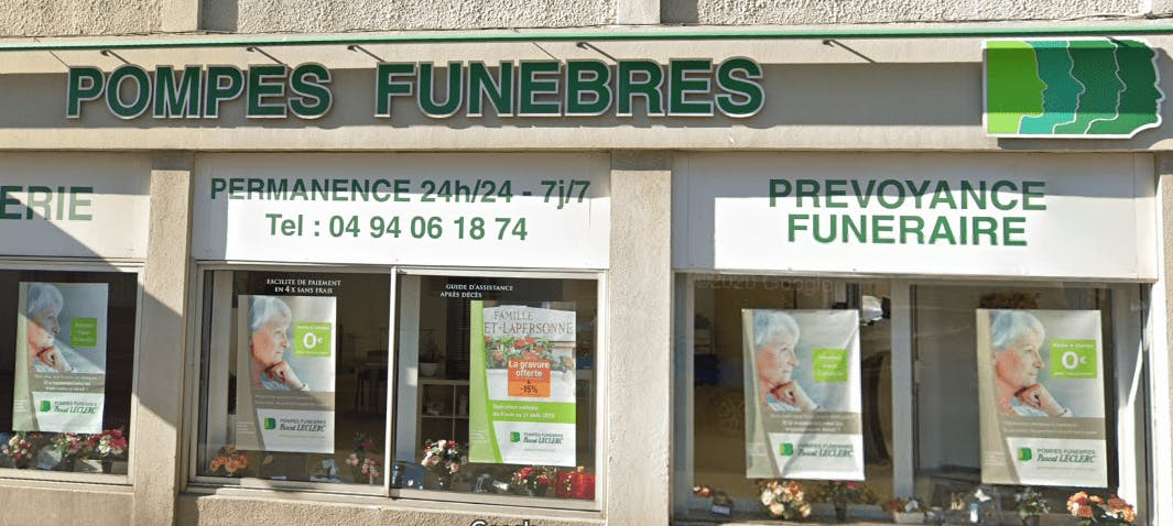Photographie Pompes Funèbres Pascal Leclerc La Seyne-sur-Mer