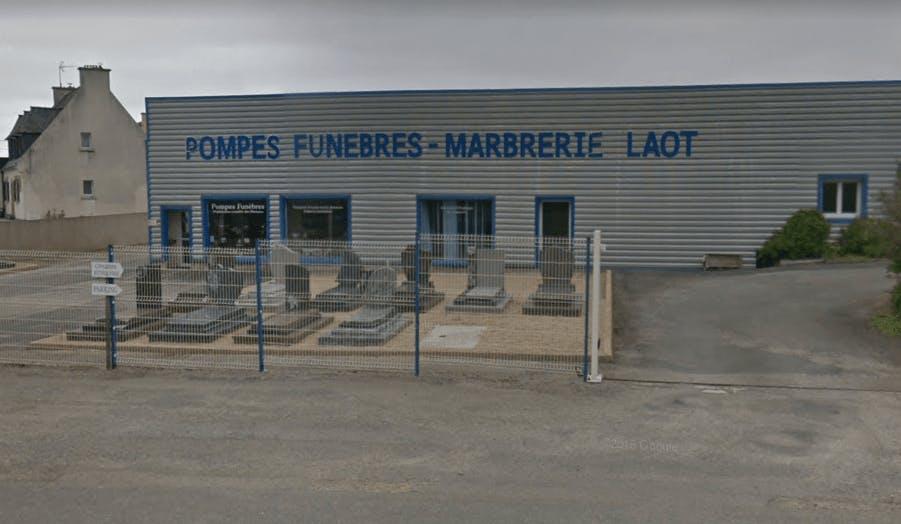 Photographie de la Pompes Funèbres et Marbrerie Laot à Lampaul-Ploudalmézeau