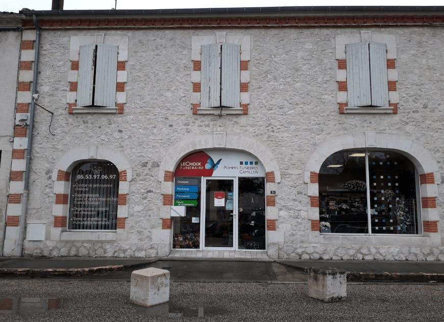 Photographie de la Pompes Funèbres CAMILLERI - Le Choix Funéraire de la ville de Nérac