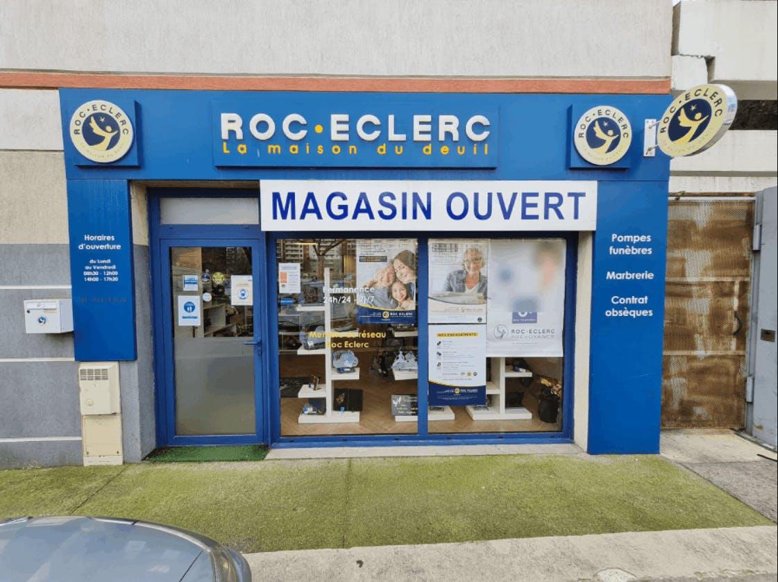 Photographie de la Pompes Funèbres Roc-Eclerc de Nice
