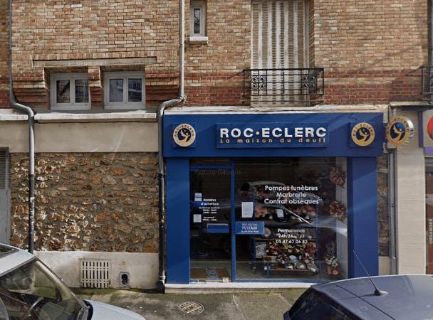 Photographie de la Pompes Funèbres ROC ECLERC à Puteaux