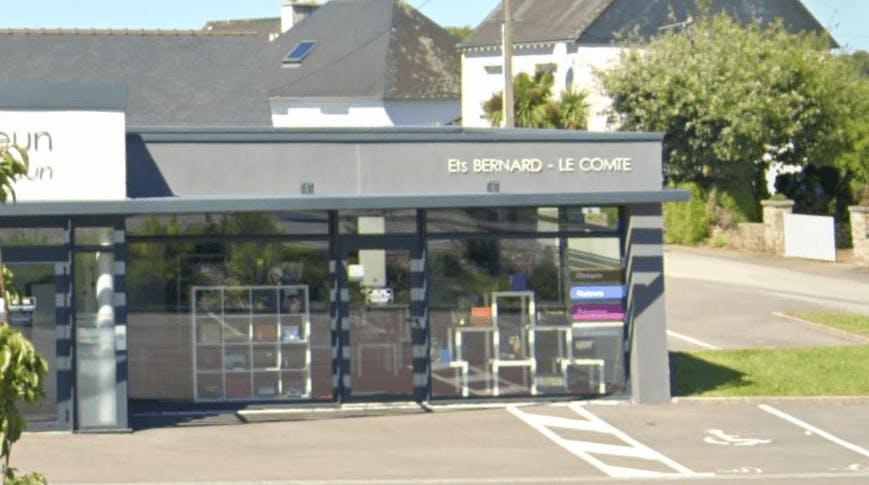 Photographie de la Pompes Funèbres Bernard-Le Comte à Quimper