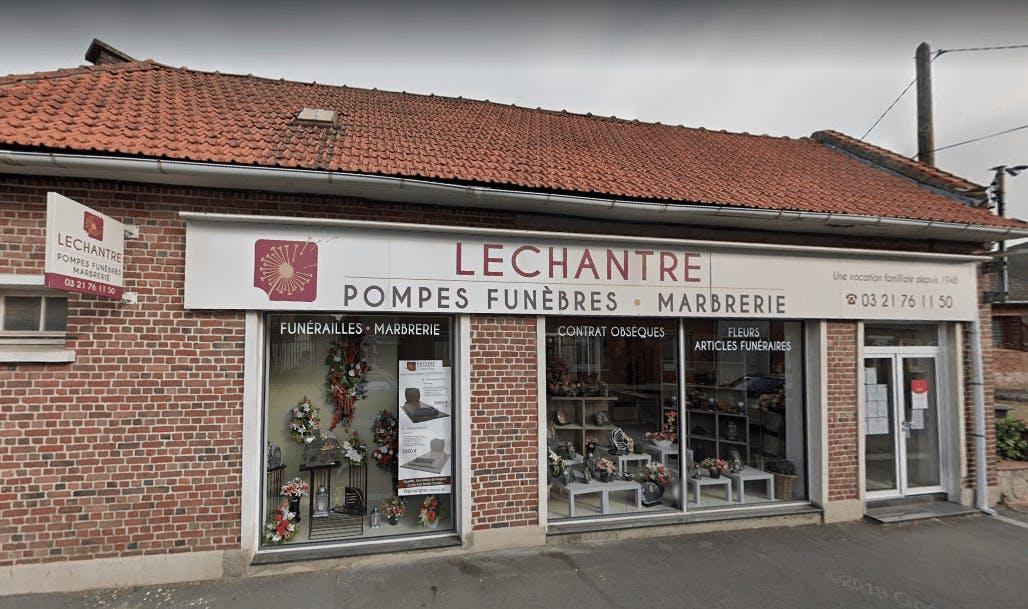 Photographie Pompes funèbres Lechantre de Courrières