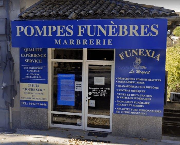 Photographie FUNEXIA Pompes Funèbres de Forcalquier
