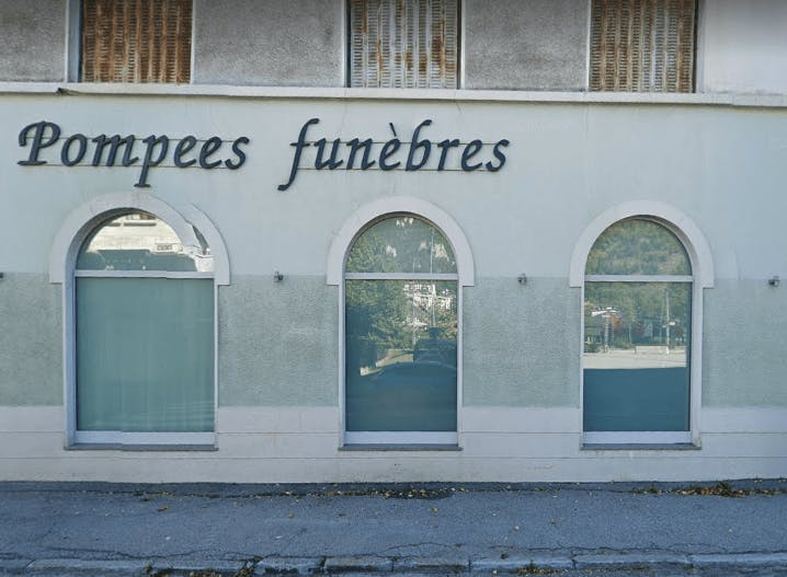 Photographie Pompe Funèbres de la Vanoise de Modane