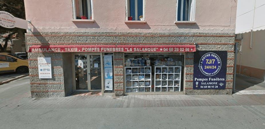 Photographie de la Pompes Funèbres La Salanque à Saint-Laurent-de-la-Salanque