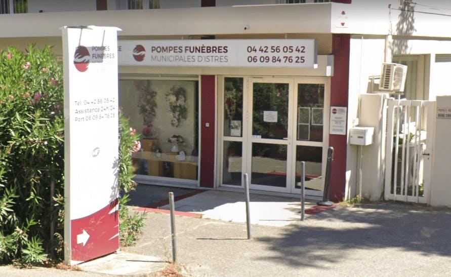 Photographie de la Pompes Funèbres Municipale à Istres