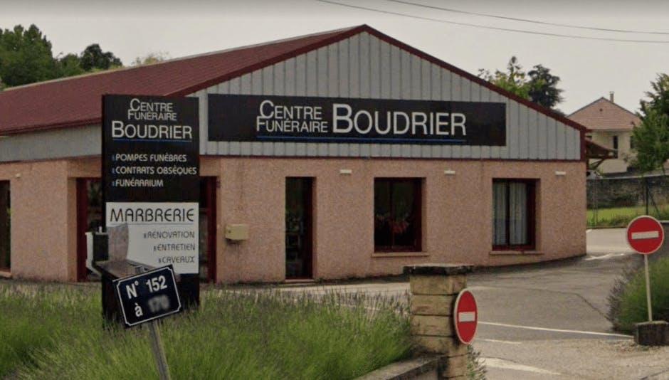 Photographie de la Pompes Funèbres Boudrier à Morestel