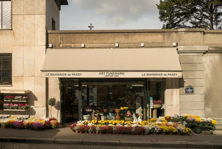 Photographies des Pompes Funèbres Passy Cridel à Paris